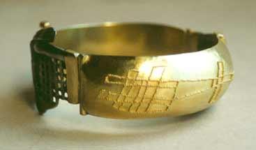 Gold granuliert, Eisen