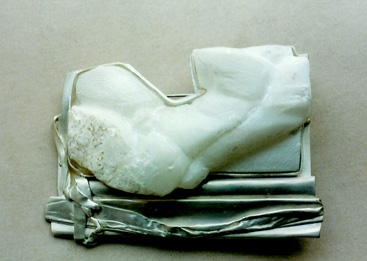 Silber, Alabaster