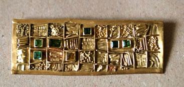 Gold, Turmaline