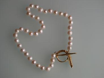 Gold, Perlen