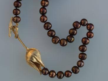 'Physalis' Gold, Perlen