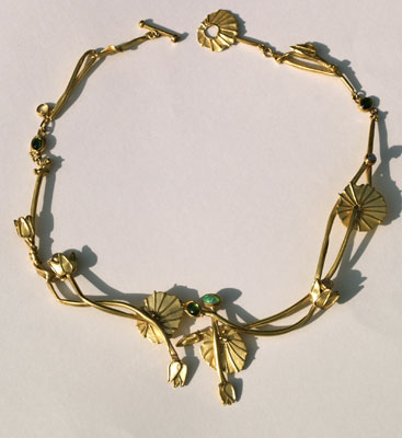 'Lotos' Gold, Opale, Turmaline