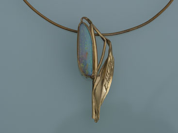 Gold, Opal