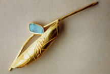 Gold granuliert, Opale