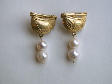 Gold granuliert, Perlen