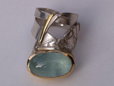 Silber, Gold, Amethyst