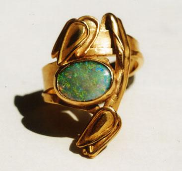'Lotos' Gold, Opal