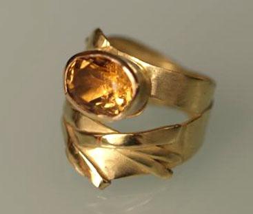 Gold, Zitrin