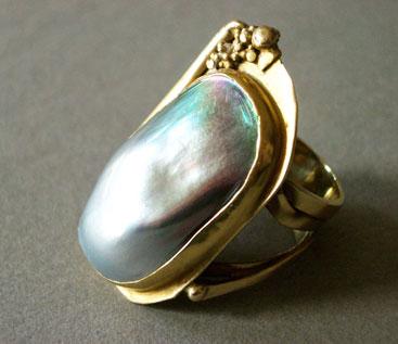 Gold, Tahitiperle