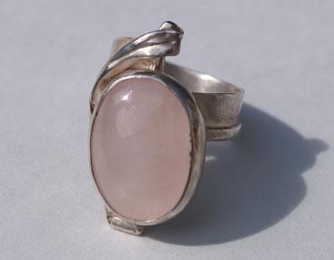 Silber, Rosenquarz